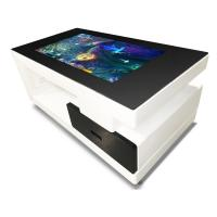 TFT Commercial Multi Touch Screen Table 43 Inch Digital Totem Touch Smart Table