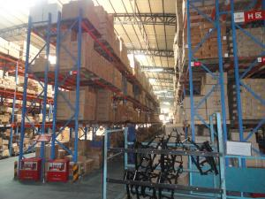 China Warehousing Steel pallet storage racks High Capacity 1000KG - 2000KG / Pallet on sale