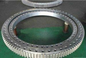 China China supplier Non-gear and External gear and Internal gear Lazy susan Three-row Roller Slewing bearing on sale