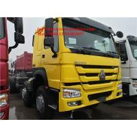 Sinotruck Howo 8x4 Dump Trucks Front Lift Loading 30cbm 40t ZZ3317N3267D1 336hp / 371hp