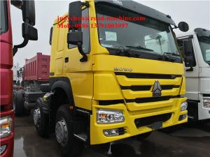 China Sinotruck Howo 8x4 Dump Trucks Front Lift Loading 30cbm 40t ZZ3317N3267D1 336hp / 371hp on sale