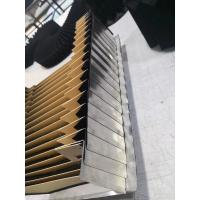 highly durability  steel clad bellows finned bellows cover black and silver for traverse rate 120M/min