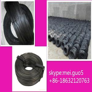 China 2014 hot sale stainless black annealed iron wire supplier