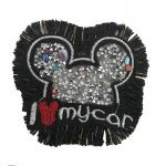 Delicate Rhinestone Applique Patches Large Size Any Shape Available