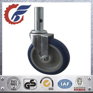 China ladder caster wheel swivel stem PU PA made in china on sale