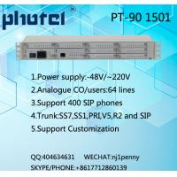 64 analogue users/400 SIP users PBX exchange system