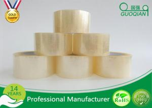 China Clear Shipping Storage Box BOPP Sealing Tape Single Sided ISO SGS on sale