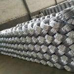 Zinc coating 0.9mm 20 Gauge Hot Dip Galvanized Iron Wire for Mesh Weaving