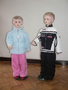 China boy's and girl's jacket on sale