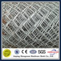 China Hot dipped galvanized used chain link fence on sale