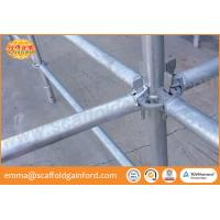 China Scaffolding ring lock vertical ring lock standard layher scaffolding for bridge construction on sale