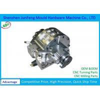 High Precision Aerospace Machined Parts Aluminum Material +/-0.005mm Tolerance