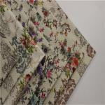 Plain Multi Colored Upholstery Fabric Beautiful Pineapple Printed