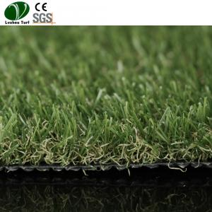 China Pp Pe Synthetic Indoor Grass Mat / Playground Waterproof Grass Carpet on sale