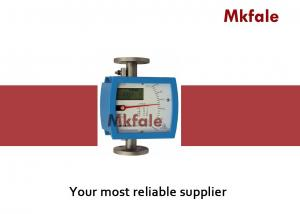 China Low Cost Leak proof Variable Area Flow Meter Aluminum Alloy Housing Material Stainless Steel Tube on sale