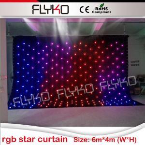 China led lights dj equipment led star curtain/ led starlight cloth/ star cloth lighting on sale