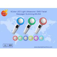 China 6 Color LED Light Ultrasound EMS Facial Massager Slimming beauty device on sale