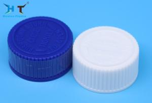 China 28 Mm Plastic Child Proof Cap Screw Lid White Color For Drug Bottle on sale