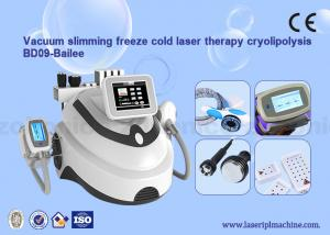 China Multifunctional 4 In 1 Rf & Cavitation & laser & Cryo weight loss Machine on sale