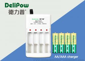 China 2800mAh 4 Slots Rechargeable Battery Charger With 3 Years Cycle Life on sale