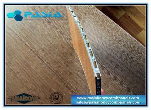 China Bamboo Imitation Aluminum Honeycomb Panels For Indoor Decoration Environmental Freindly on sale
