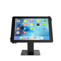 China Metal Black Durable Tablet Stand Holder Ipad Tablet Security Lock Stand on sale