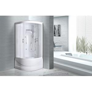 China Multi Function Luxury Replacement Shower Stalls Kits 3 In 1 Acrylic Panel W / Seat on sale