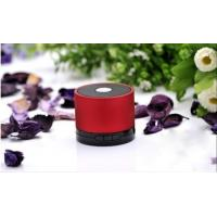 China Alloy Waterproof Bluetooth Mini Speaker Rechargeable USB TF Slot FM Multi-Color Gray Gold Red Silver Black on sale