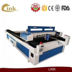 China Auto CNC Sheet Metal Laser Cutter Leadshine Driver With Hiwin Linear Square Rails on sale