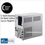 Anúncio publicitário RC45 sob o refrigerador de água remoto do refrigerador do dissipador