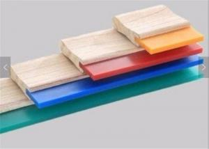 China 75A Blade Wood Handle Screen Printing Squeegee Free Size Ink Scraper for Silk Screen Printing on sale