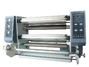 China ZFQ1300 series Vertical Automatic Slitting Rewinding Machine BOPP PET CPP CPE PVC craft paper adhesive label sticker on sale
