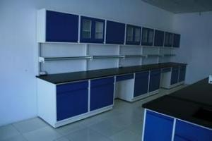 China Trespa lab wokbench furniture equipment  supplier for chemical and hospital laboratory on sale
