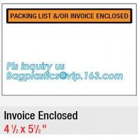 FedEx packing list envelope adhesive tape bag Pressure Sensitive zip lock packing list envelope, Post Fedex Plastic Expr