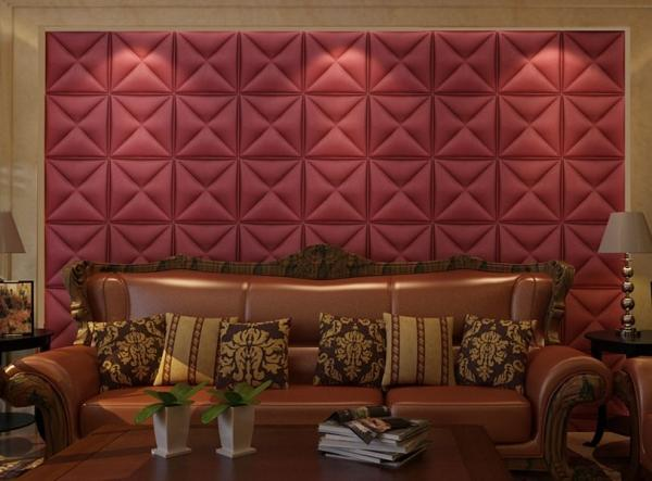 Pvc Wall Panels Interior : Pvc tiles d wall interior fire resistant leather