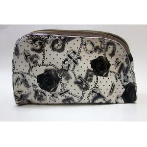 China Black rose travel cosmetic bag toiletry organizer with zipper on sale