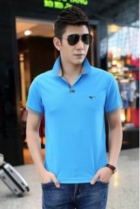 China POLO TShirt Men's suit, coat, Newly Luxury brand men's pure color cotton shirt, cultivate one's morality on sale