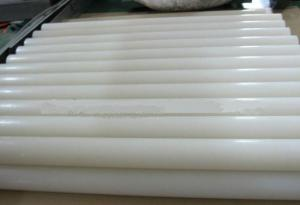 China 4000mm High Purity PVDF Sheet / Polyvinylidene Fluoride Rod For Floor , 2.10 - 2.30g/cm³ on sale