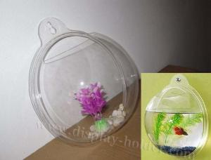 China Wall-mounted Hanging Hemisphere Acrylic Fish Aquariums on sale