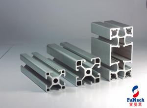 China 6063 Silver Extrusion Aluminum  Profiles of Assembly Line Used Car Trains Machinery on sale
