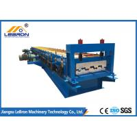 High Production Step Tile Roll Forming Machine Good Performance 0.8-1.2mm Thickness