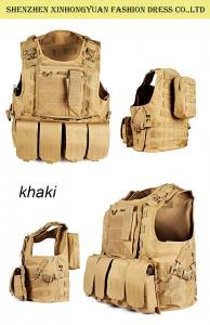 China Concealed Airsoft Combat Military Bulletproof Vest / Police Tactical Vest Carrier on sale