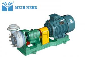 China Fluorine Plastic Centrifugal Chemical Pump Horizontal Electric Chemical Resistant on sale