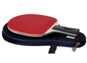 China wholesale Ping pong paddle/High quality Training table tennis racket / table tennis bat on sale