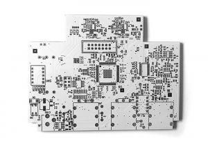 China White Metal Clad PCB , Aluminum Led Metal Core PCB For LED Lighting on sale