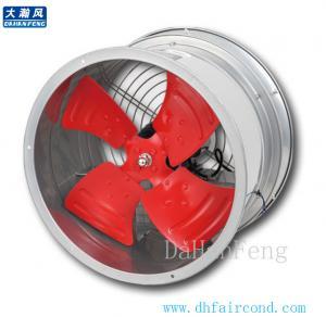 China DHF G series pipeline axial fan/ blower fan/ ventilation fan on sale