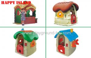 China Plastic Outside Toys For Toddlers Of Cubby House Plastic Indoor Toddler Play Sets on sale