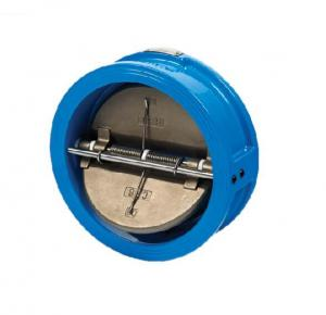 China Ductile Cast Iron Swing Type Check Valve Safety Operation Interference Resistance on sale