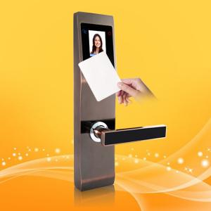 China Safety Finger Touch Keypad RFID Card Door With Palm And Face Recognition on sale