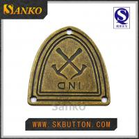 China High Quality Metal Tag for Garments on sale